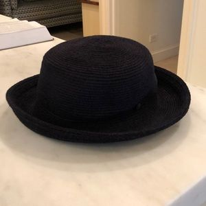 Super soft black hat by Annabel Ingall